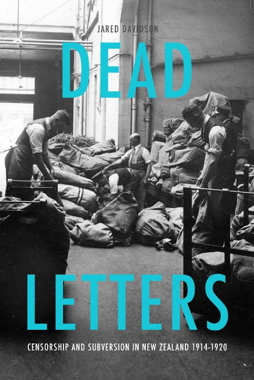 Cover of Dead Letters by Jared Davidson